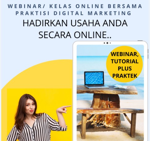 Webinar Pelatihan Wirausaha Bisnis Online